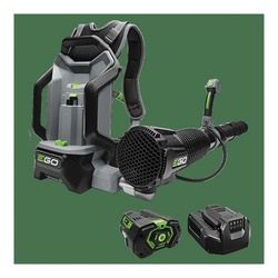 Picture of EGO LB6002 Cordless Leaf Blower, 5 Ah, 56 V Battery, Lithium-Ion Battery, 320 to 650 cfm Air, 120 min Run Time