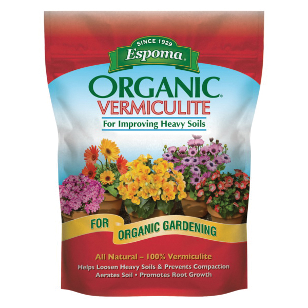Picture of ESPOMA E60 VM1 Vermiculite, Solid, Gray, 1 cu-ft Package