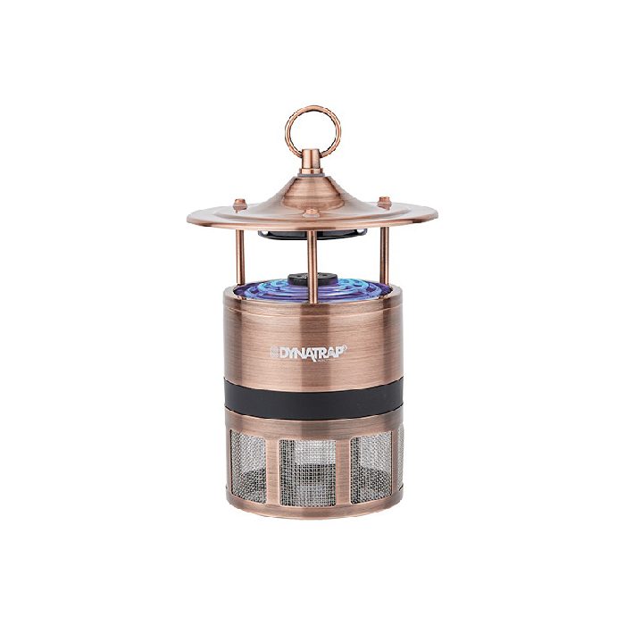 Picture of DYNATRAP ATRAKTA Series D99 DT600AC Insect Trap, Odorless, 9 in L Trap, 6 in W Trap, Antique Copper, Box