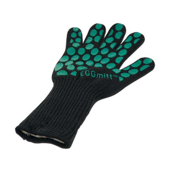 Picture of Big Green Egg EGGmitt 117090 BBQ Gloves, One Size, Fiber
