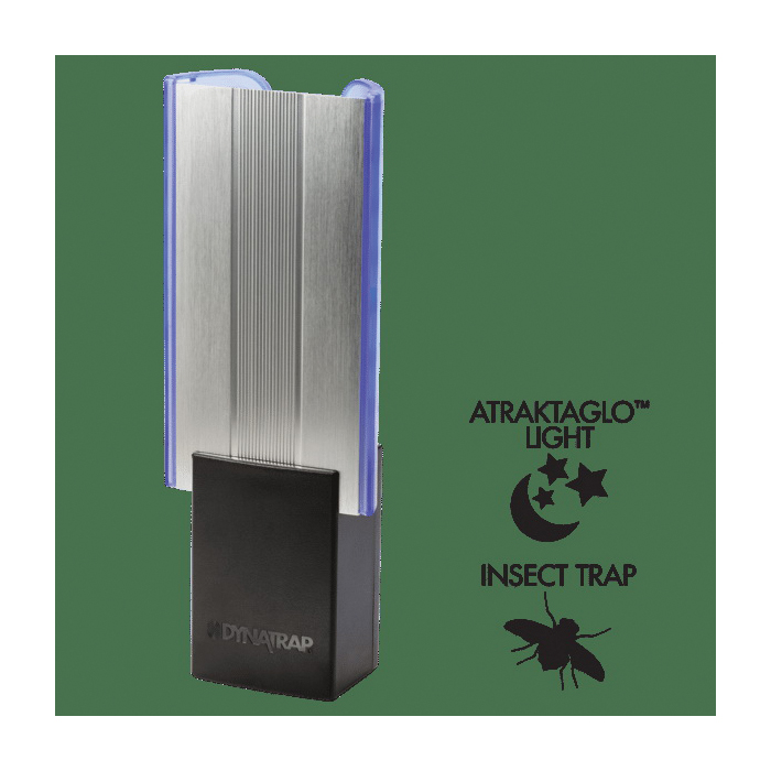 Picture of DYNATRAP D99 DT3009 Flylight Insect Trap Pack, 9-1/2 in L Trap, 3-1/2 in W Trap, Black, Pack