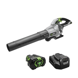 Picture of EGO LB5804 Cordless Leaf Blower, 5 Ah, 56 V Battery, Lithium-Ion Battery, 225 to 580 cfm Air, 200 min Run Time