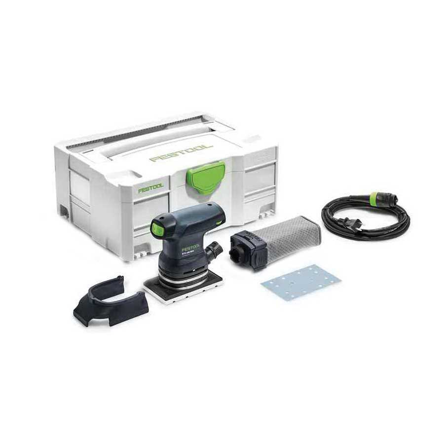 Picture of Festool RTS400 Orbital Sander, 120 V, 250 W, 3-5/32 x 5-1/4 in Pad/Disc, 6000 to 12,000 rpm No Load
