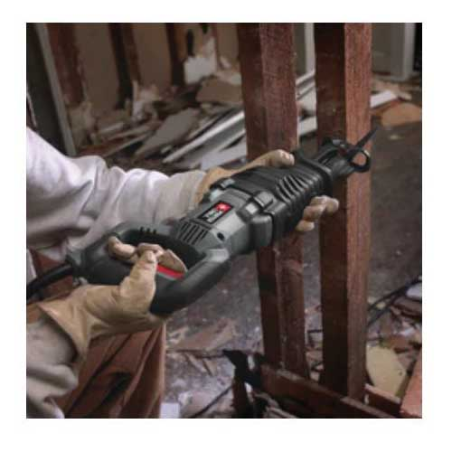Picture of PORTER-CABLE PC75TRS Reciprocating Saw, 120 V, 1-1/8 in L Stroke