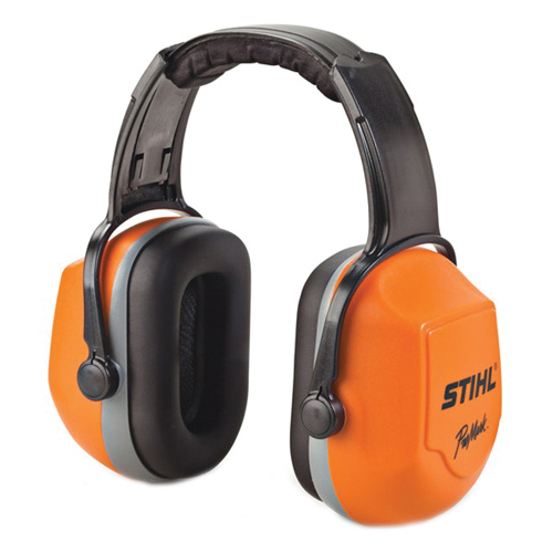Picture of STIHL 0000 886 0402 Hearing Protector, 25 dBA NRR, Padded Headband, Orange