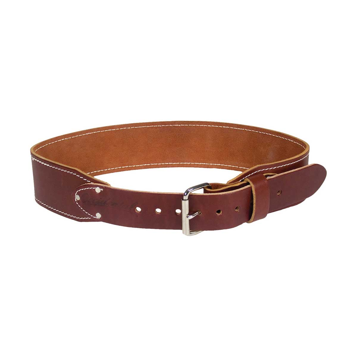Picture of Occidental Leather 5035 LG Ranger Work Belt, 36 to 39 in Waist, 48 in L, Leather, Brown