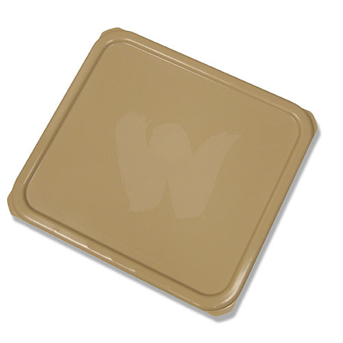 Picture of WOOSTER 8626 Bucket Lid, Polypropylene, Tan, For: 4 gal Buckets