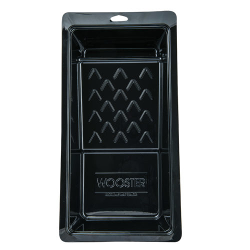 Picture of WOOSTER Jumbo-Koter BR403-6 1/2 Roller Tray, 6-1/2 in L, 1 qt Capacity, PET, Black