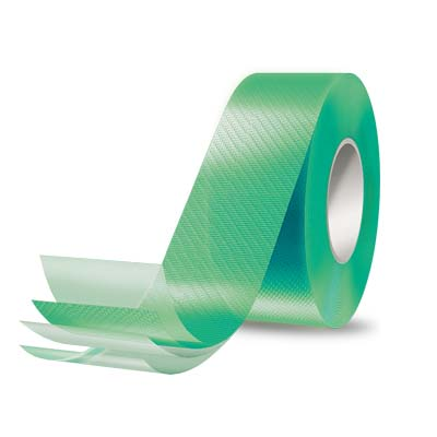Picture of ALPHA Nichigo G-Tape GT1009GR Repair Tape, 163 ft L, 2 in W, LDPE Backing, Green