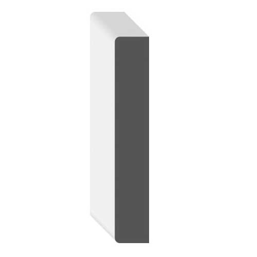Picture of METRIE FJS4815PL Primed Flat Jamb Side, 82-11/16 in L, 11/16 in Thick, Pine