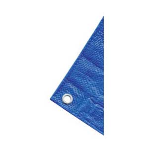 Picture of Rafferty RT2030BB Medium-Duty Tarp, 20 ft L, 30 ft W, Polyethylene, Blue