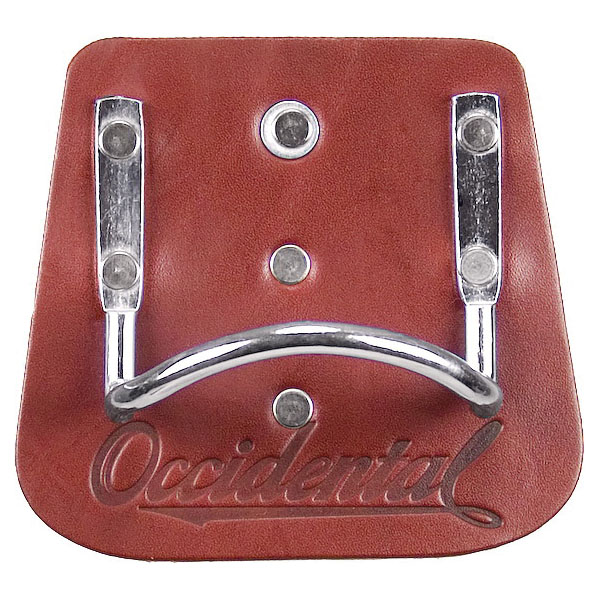 Picture of Occidental Leather 5040 Clip-On Hammer Holder, Leather/Steel