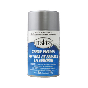 Picture of TESTORS 1246T Craft Paint, Metallic, Silver, 3 oz, Bottle