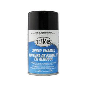 Picture of TESTORS 1247T Craft Paint, Gloss, Black, 3 oz, Bottle
