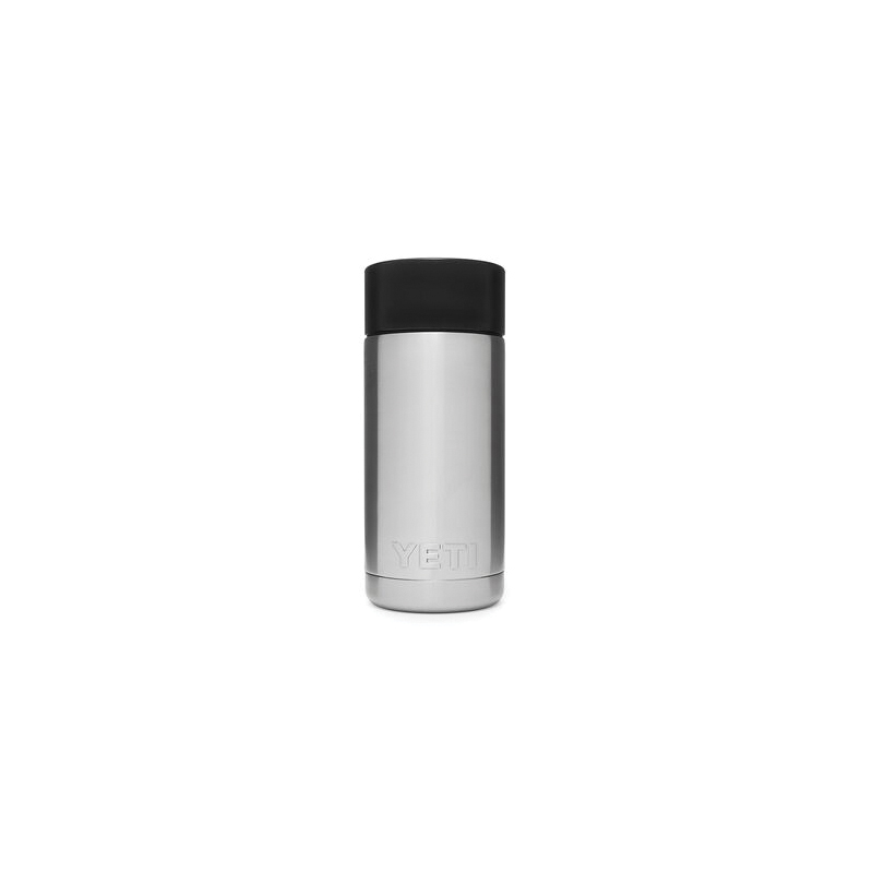 Picture of YETI Rambler 21071050003 Bottle with Hotshot Cap, 12 oz Capacity, Stainless Steel