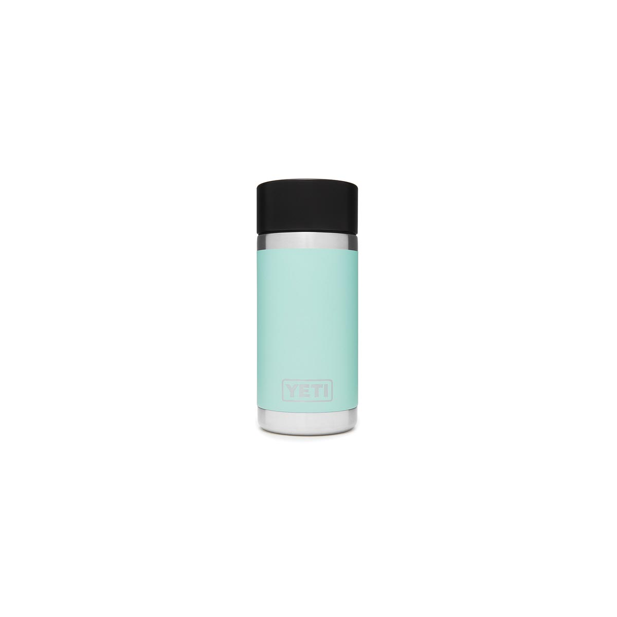 Picture of YETI Rambler 21071050004 Bottle with Hotshot Cap, 12 oz Capacity, Stainless Steel, Seafoam