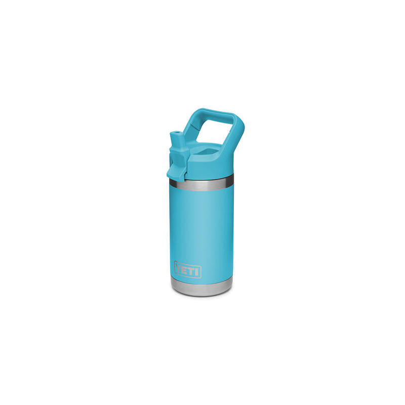 Picture of YETI Rambler Jr 21071500018 Kid's Bottle, 12 oz Capacity, Stainless Steel, Blue