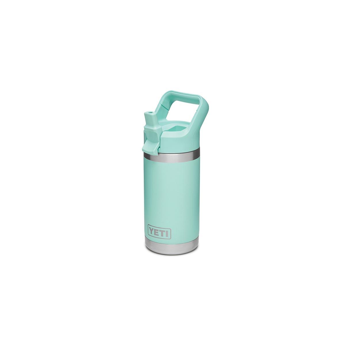 Picture of YETI Rambler Jr 21071500020 Kid's Bottle, 12 oz Capacity, Stainless Steel, Seafoam