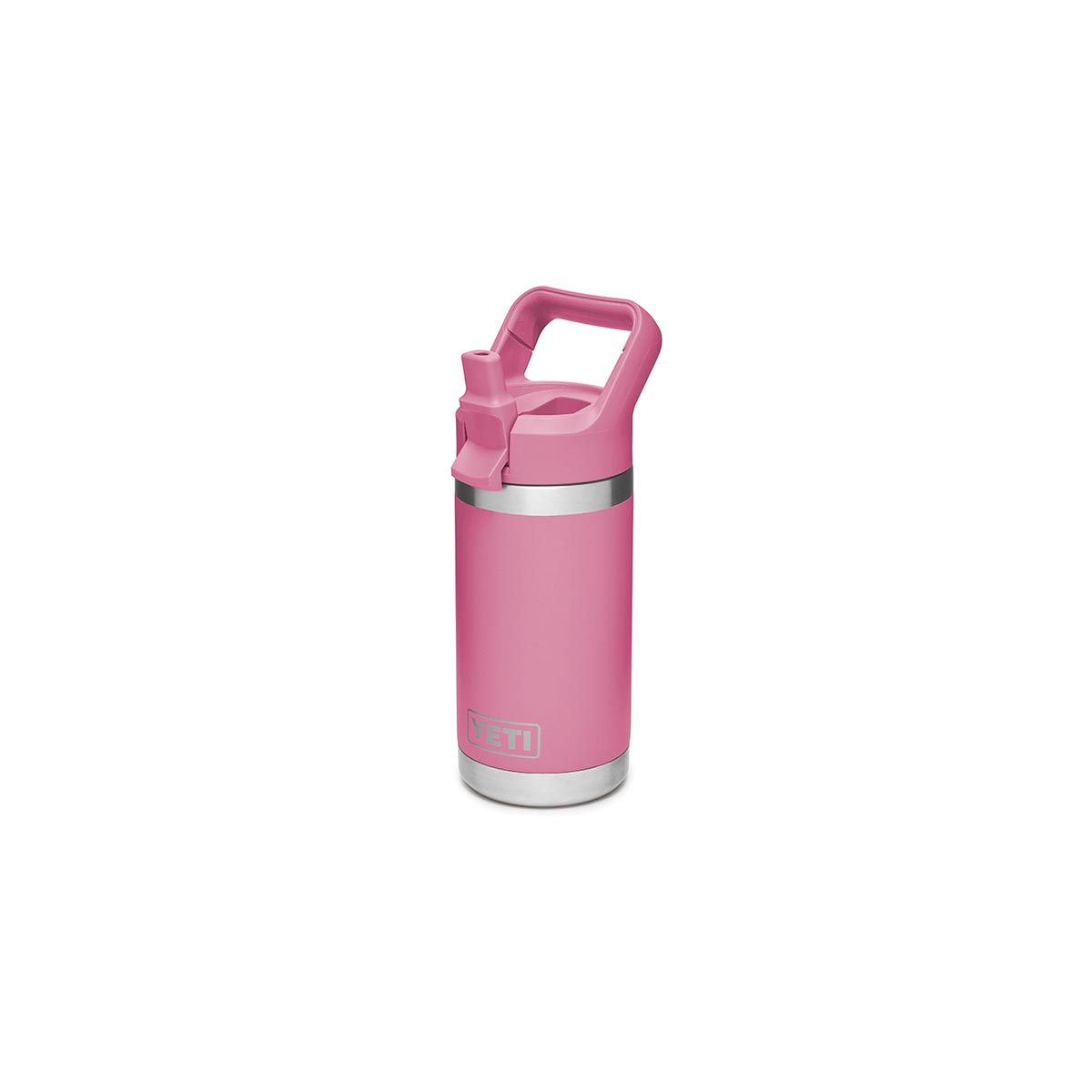 Picture of YETI Rambler Jr 21071500109 Kid's Bottle, 12 oz Capacity, Stainless Steel, Harbor Pink
