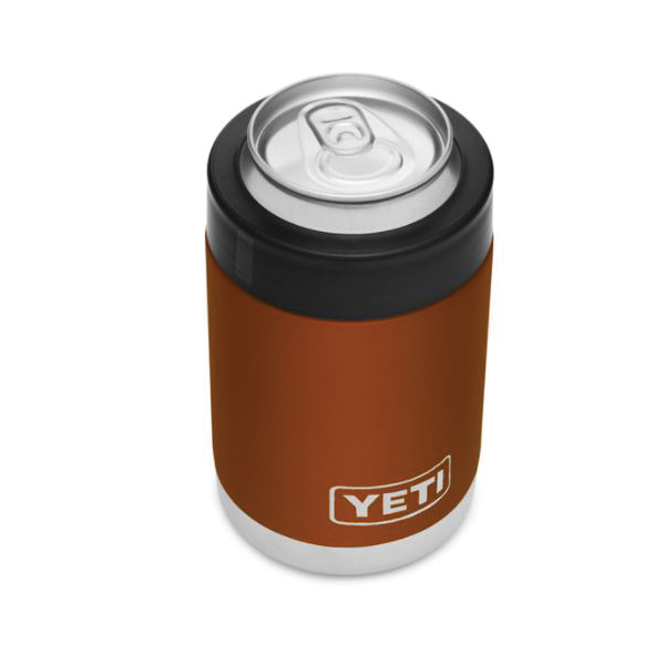 Picture of YETI 21071500131 Colster, 3-1/8 in Dia x 4-7/8 in L, 12 oz Can/Bottle, Stainless Steel, Clay