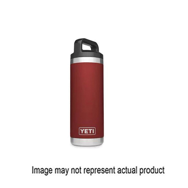 Picture of YETI Rambler 21071500123 Bottle with Chug Cap, 18 oz Capacity, Stainless Steel, Peak Purple