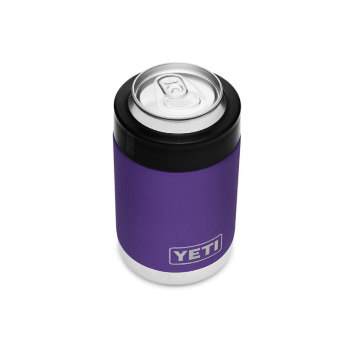 Picture of YETI 21071500162 Colster, 3-1/8 in Dia x 4-7/8 in L, 12 oz Can/Bottle, Stainless Steel, Peak Purple