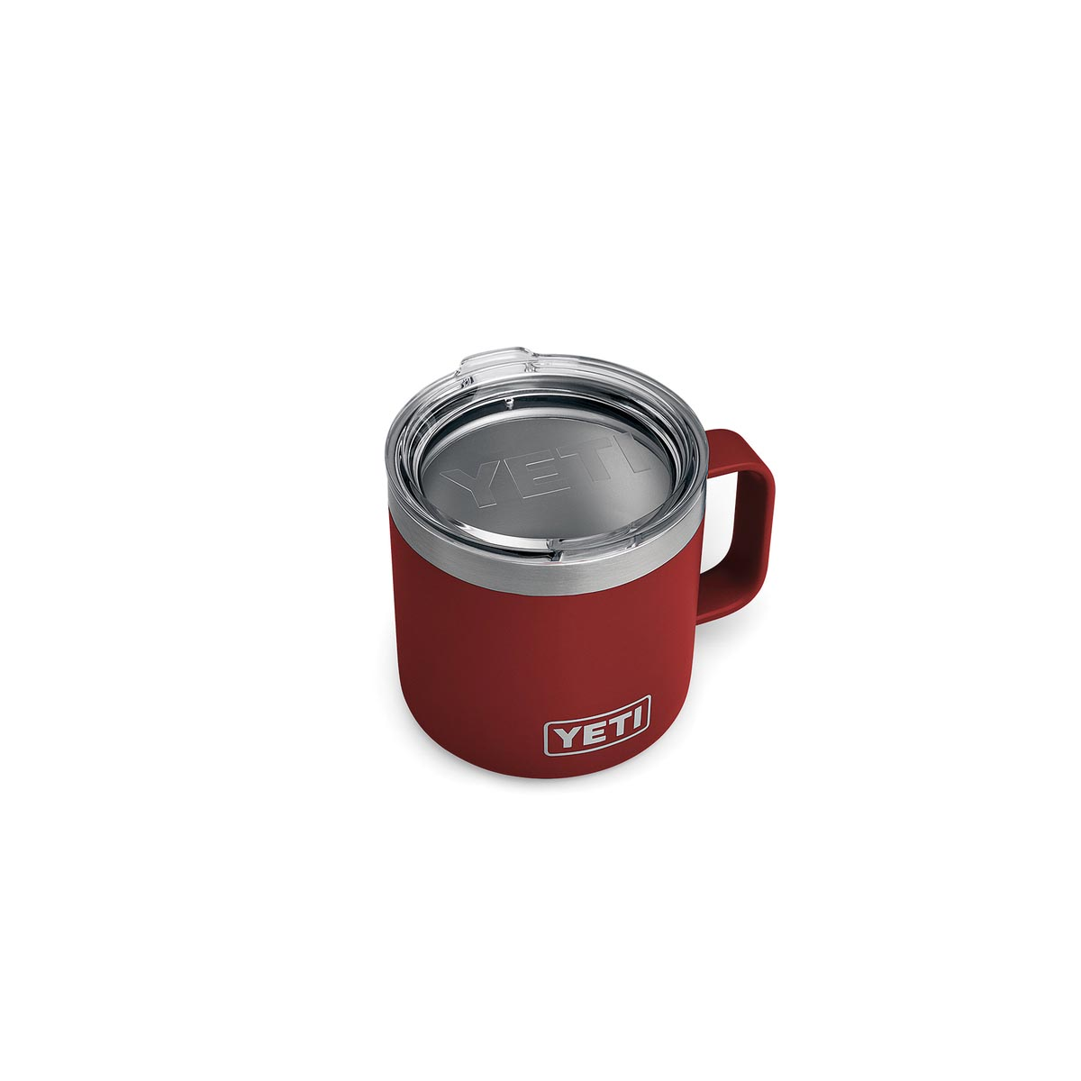 Picture of YETI Rambler 21071500187 Mug, 14 oz Capacity, Stainless Steel, Charcoal, Insulated