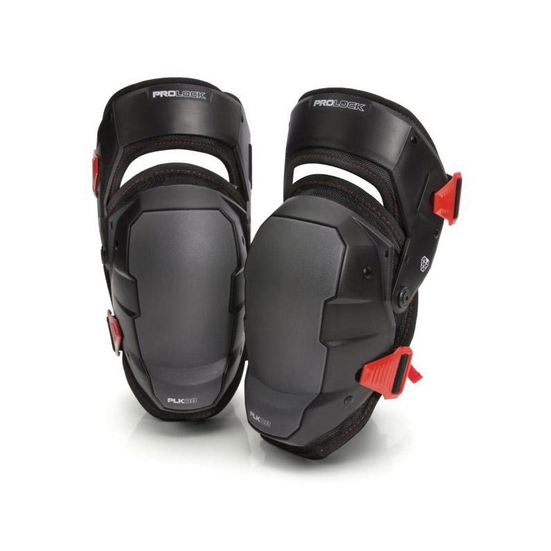Picture of STEELMAN PROLOCK 93183 Gel Knee Pad, One-Size, Polyethylene/Polyester Cap, EVA Foam/Gel Pad, Hook-and-Loop Closure
