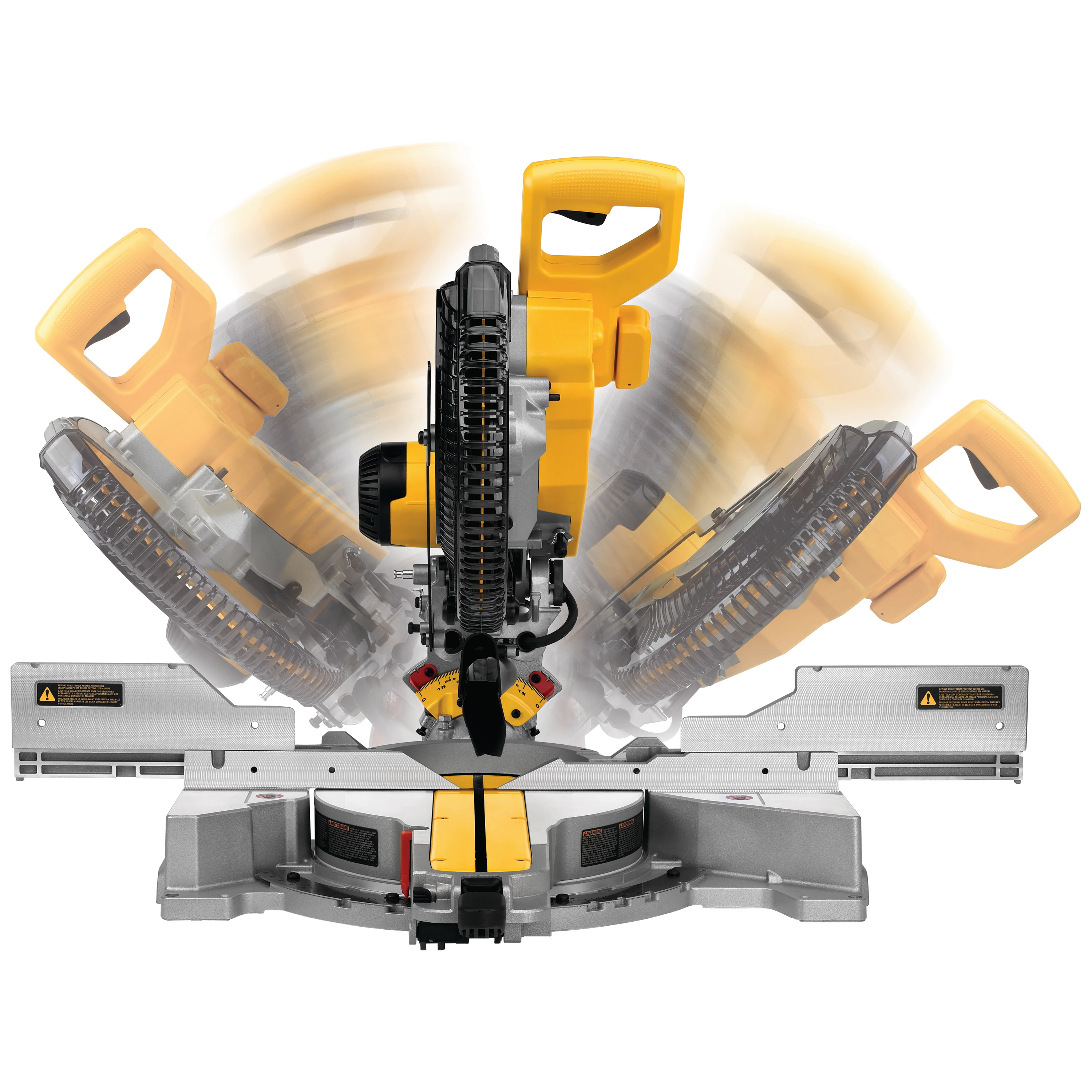 Picture of DeWALT DWS779 Sliding Miter Saw, Electric, 12 in Dia Blade, 6-3/4 in Cutting Capacity, 3800 rpm Speed