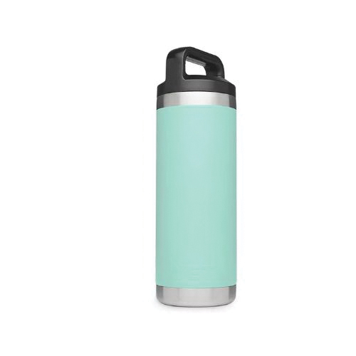 Picture of YETI Rambler 21071060004 Bottle, 18 oz Capacity, Stainless Steel, Seafoam
