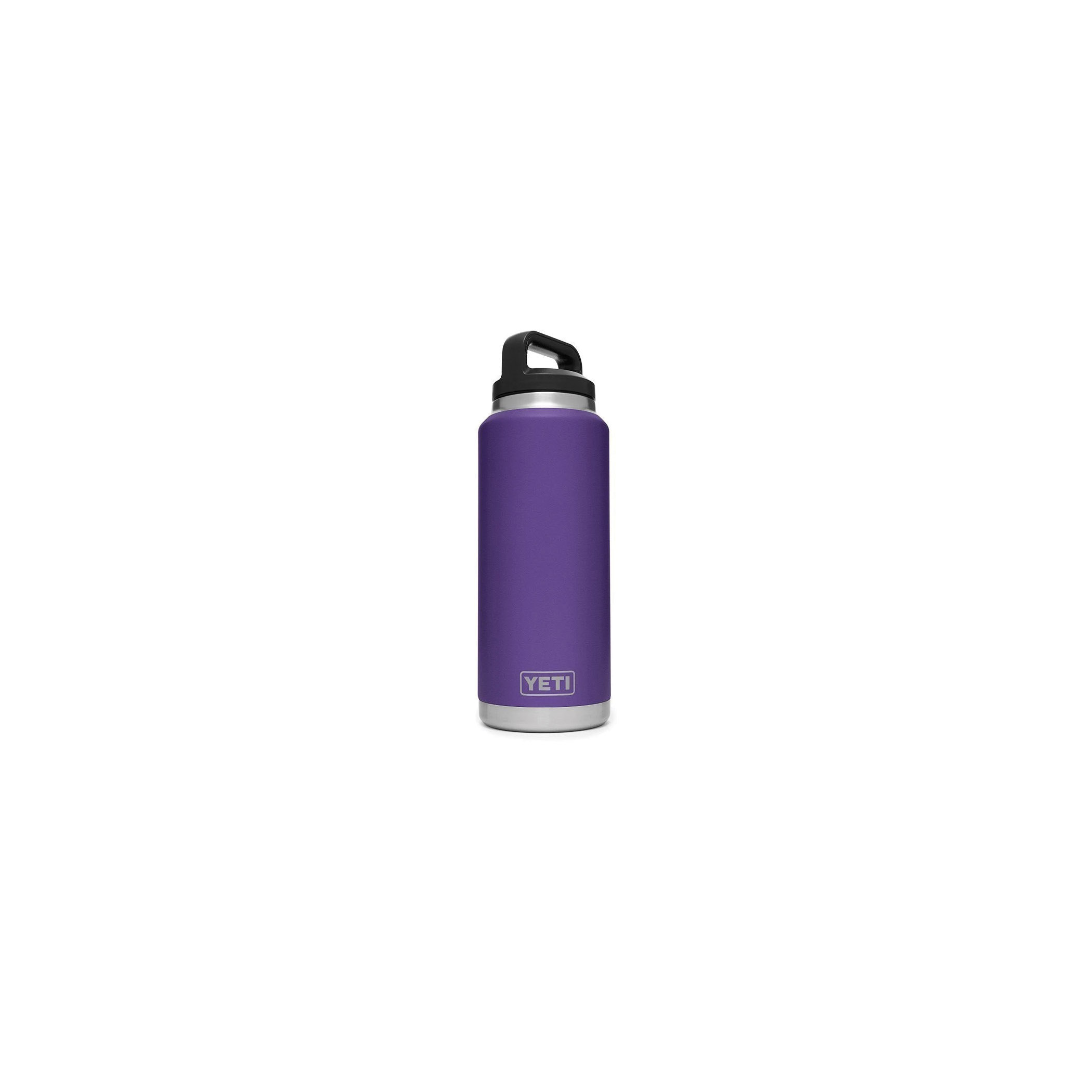 Picture of YETI Rambler 21071500129 Bottle, 36 fl-oz Capacity, Stainless Steel, Peak Purple