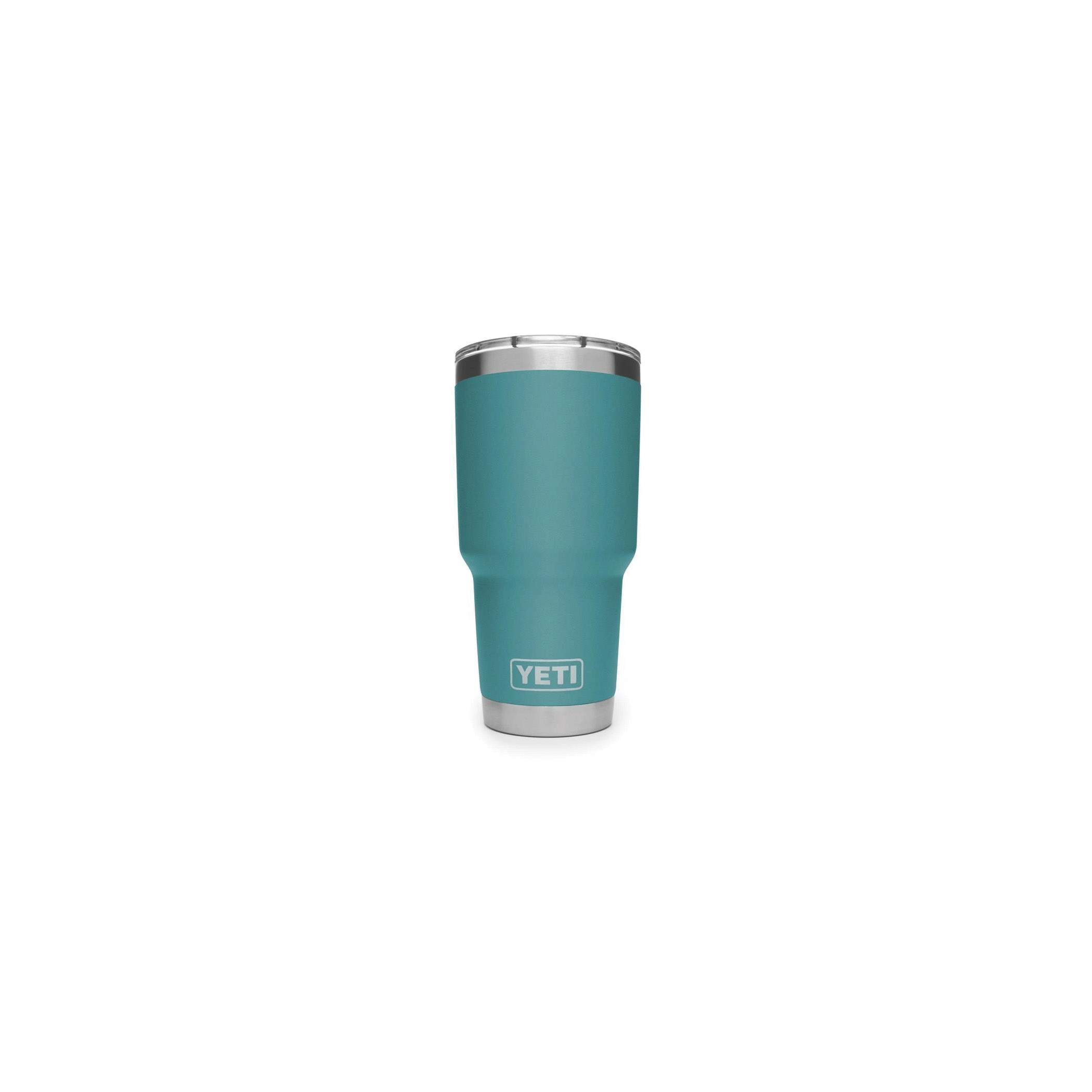 Picture of YETI Rambler 21070070049 Tumbler, 30 fl-oz Capacity, Stainless Steel, River Green