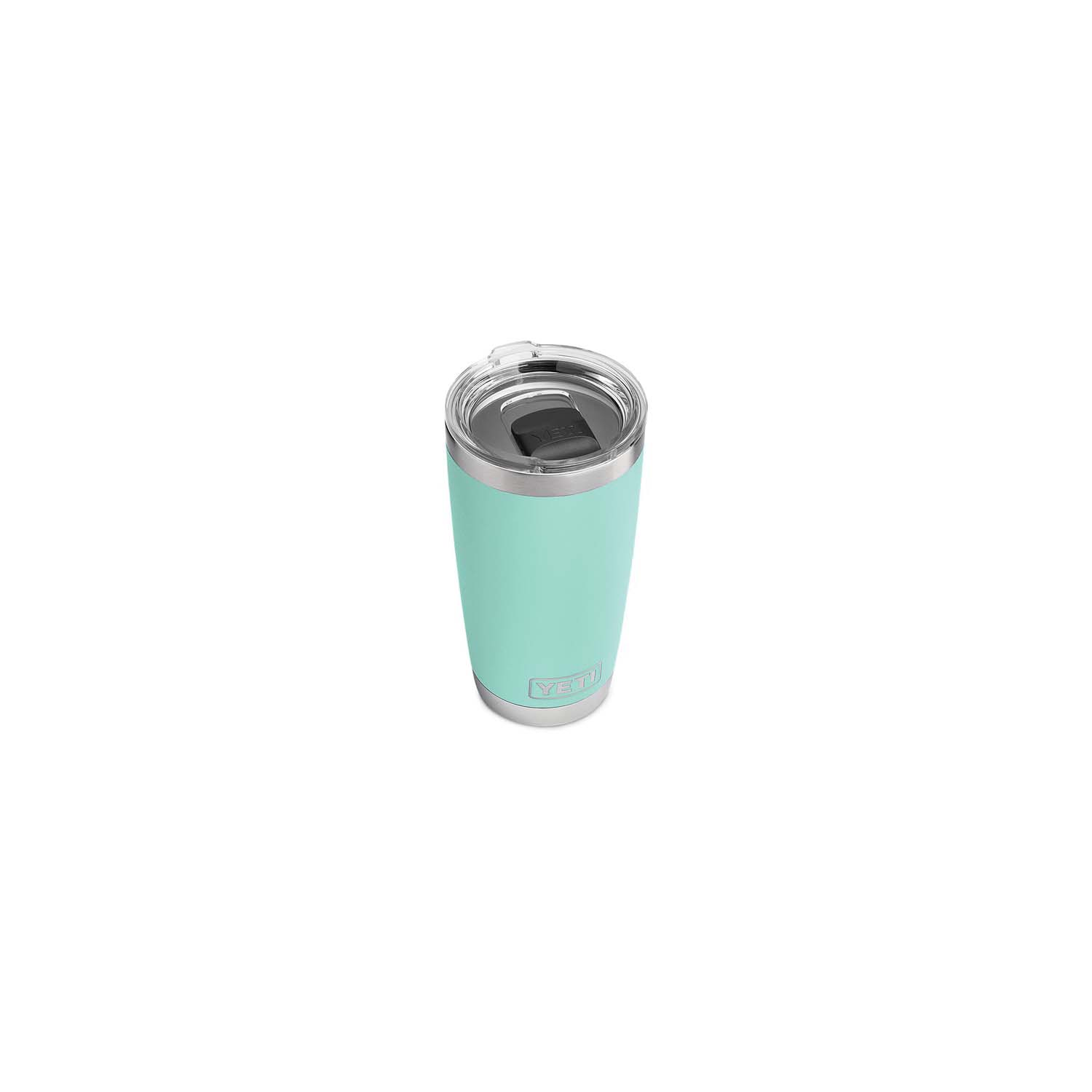 Picture of YETI Rambler 21070060016 Tumbler, 20 oz Capacity, Stainless Steel, Seafoam