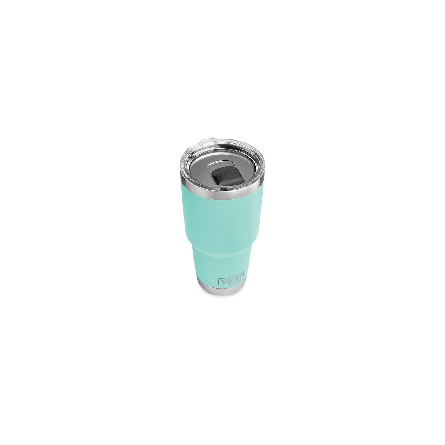 Picture of YETI Rambler 21070070017 Tumbler, 30 oz Capacity, Stainless Steel, Seafoam