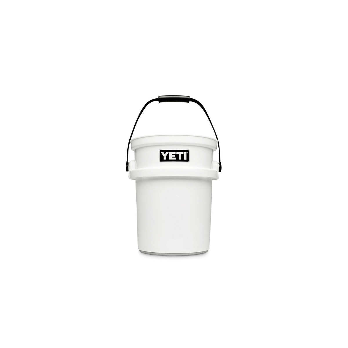 Picture of YETI LoadOut 26010000010 Bucket, 5 gal Capacity, 10-1/4 to 12-7/8 in Dia, HDPE, White