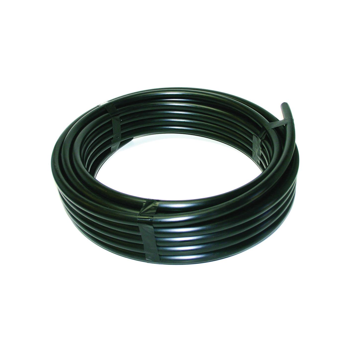 Picture of Orbit 37154 Riser Flexible Pipe, 1/2 in, 50 ft L, Polyethylene, Black