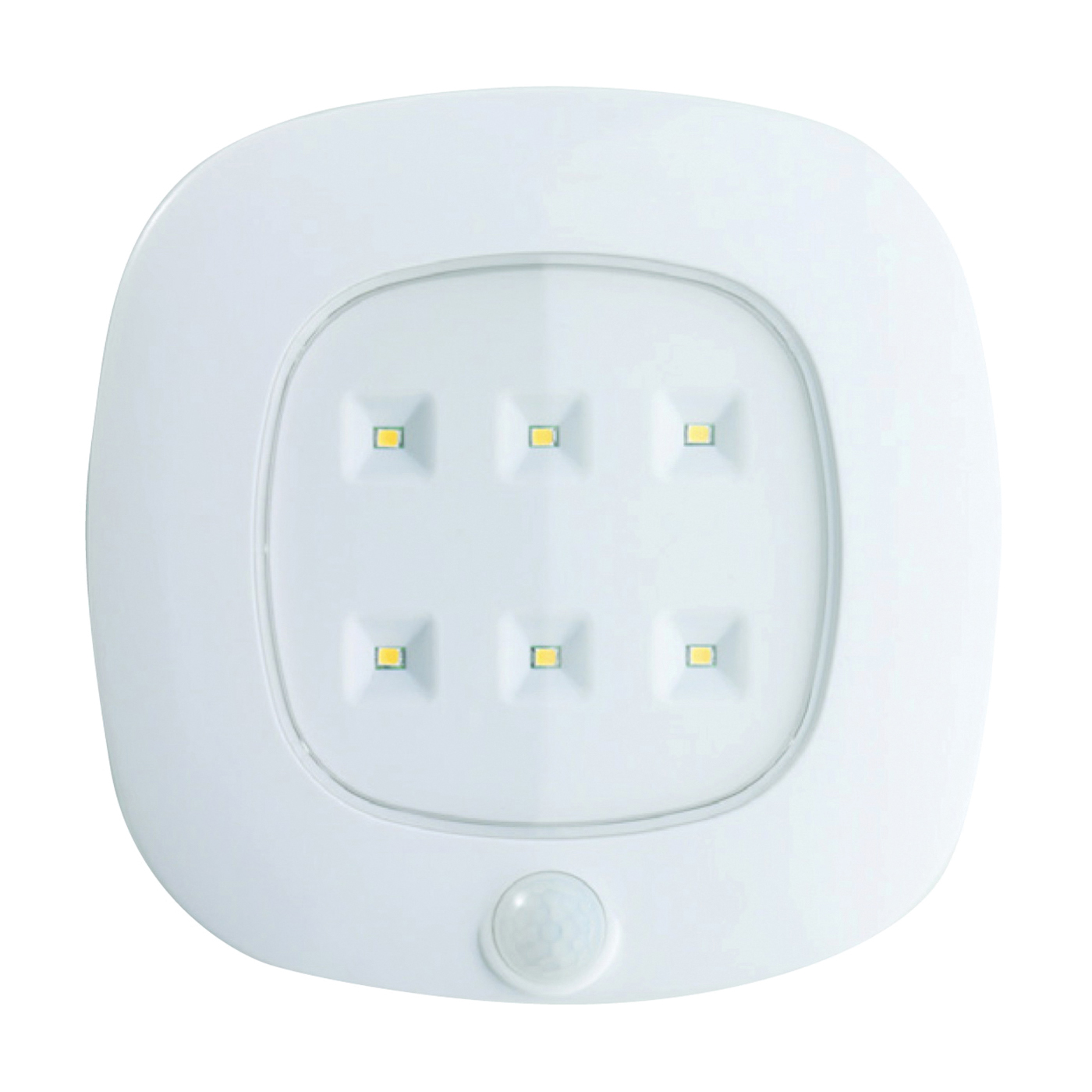 Picture of Fulcrum 30028-308 Ceiling Light, 120 VAC, C Battery, 6-Lamp, LED Lamp, 125 Lumens, White