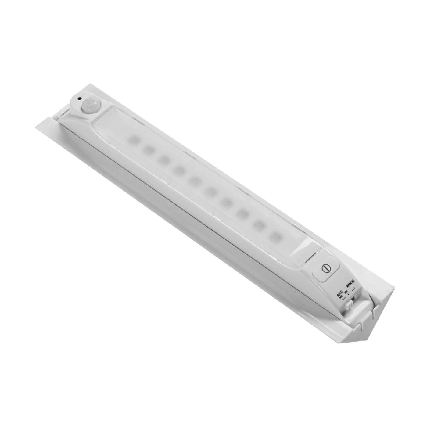 Picture of Fulcrum 30050-308 Motion Sensor Light, AA Battery, 10-Lamp, LED Lamp, 65 Lumens, 7000 K Color Temp, White