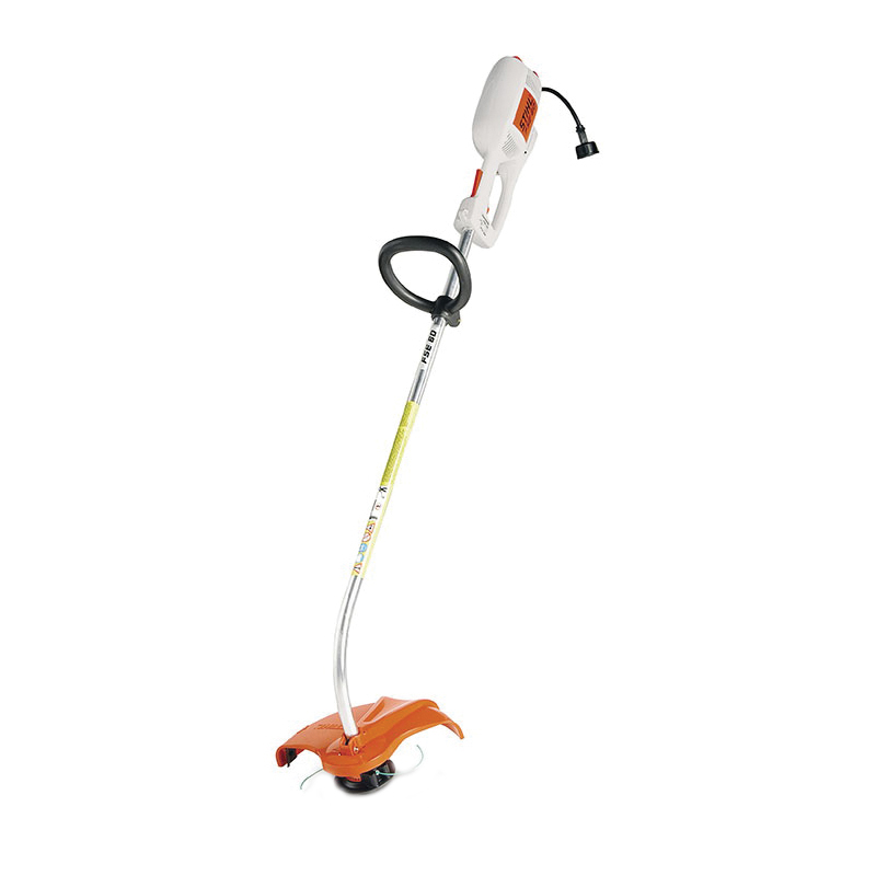 Picture of STIHL FSE 60 Electric Trimmer, 5.3 A, 120 V, 0.6 kW, 0.08 in Dia Line, Adjustable Loop Handle