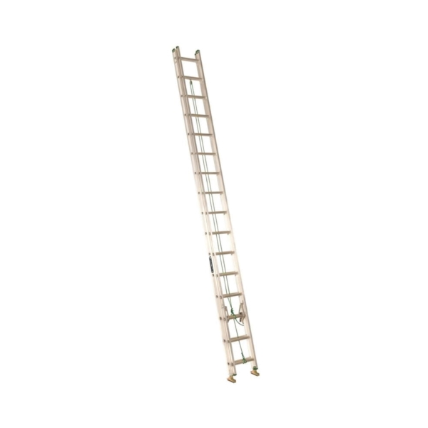 Picture of Louisville AE4232PG Extension Ladder, 379 in H Reach, 225 lb, 32-Step, 1-1/2 in D Step, Aluminum