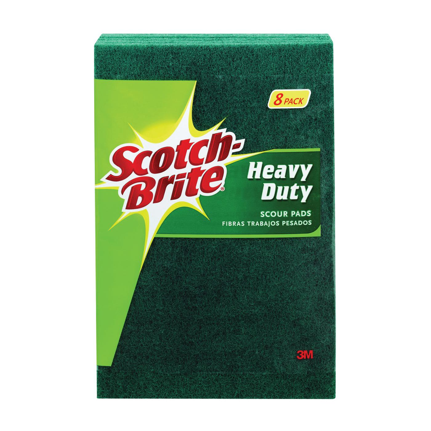 Picture of Scotch-Brite 228 Scour Pad, 6 in L, 3.8 in W, Green
