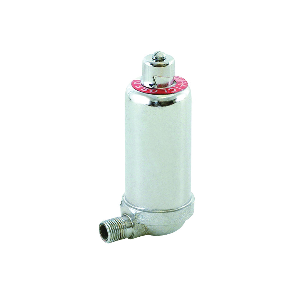 Picture of EASTMAN 20378 Angle Radiator Air Valve, Adjustable, Brass, Chrome, Bag