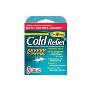 Picture of Lil' DRUG STORE 20-366715-97283-9 Cold Relief Tablet, 6 Package