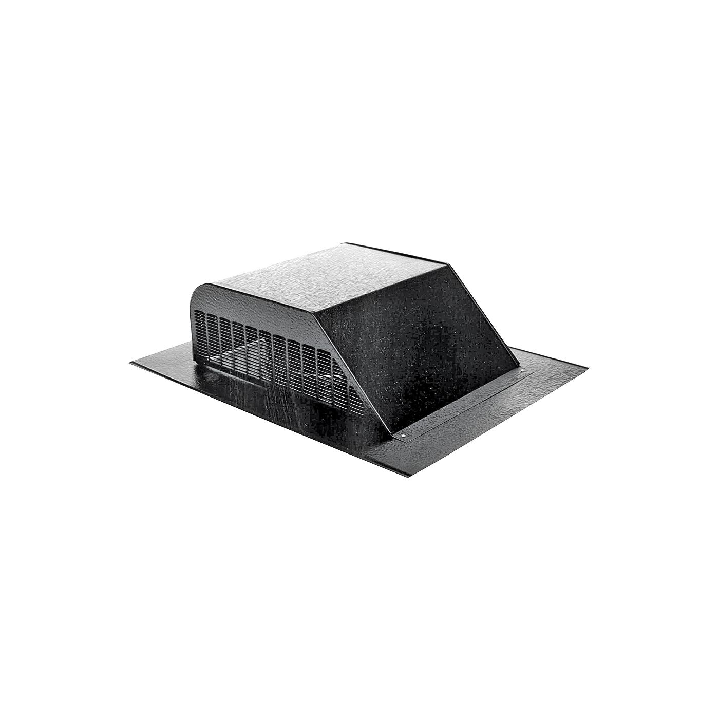 Picture of LOMANCO LomanCool 750B Static Vent, 16 in OAW, 50 sq-in Net Free Ventilating Area, Aluminum, Black