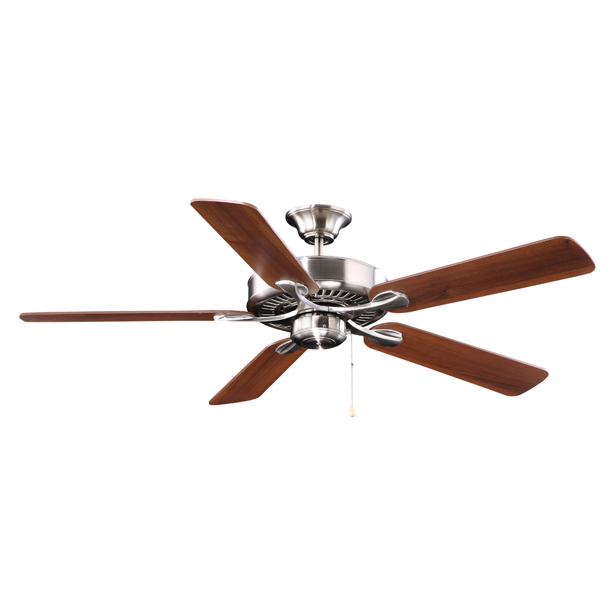 Picture of Boston Harbor YG314-ES-EN-BN Ceiling Fan, 0.8 A, 120 V, 5-Blade, 52 in Sweep, 3549 cfm Air