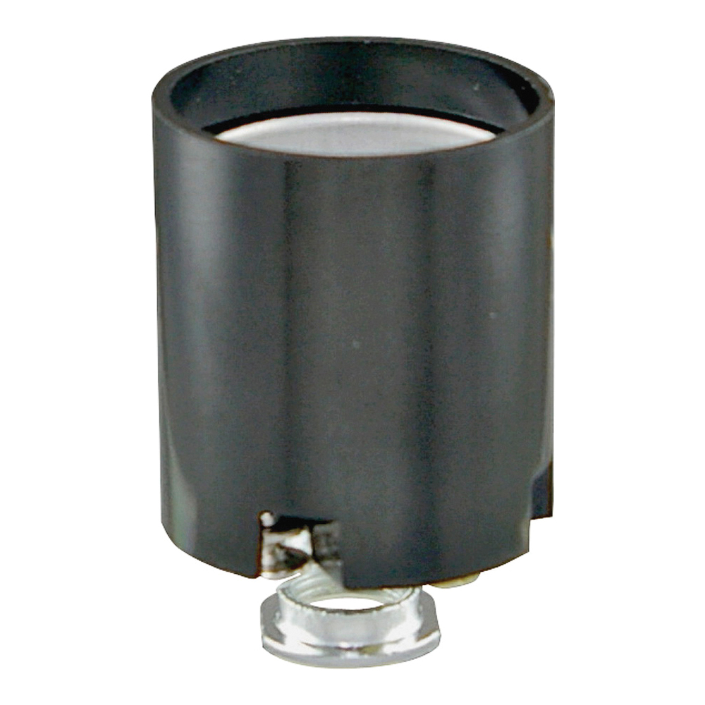 Picture of Eaton Wiring Devices BP968 Lamp Holder, 250 VAC, 660 W, Black