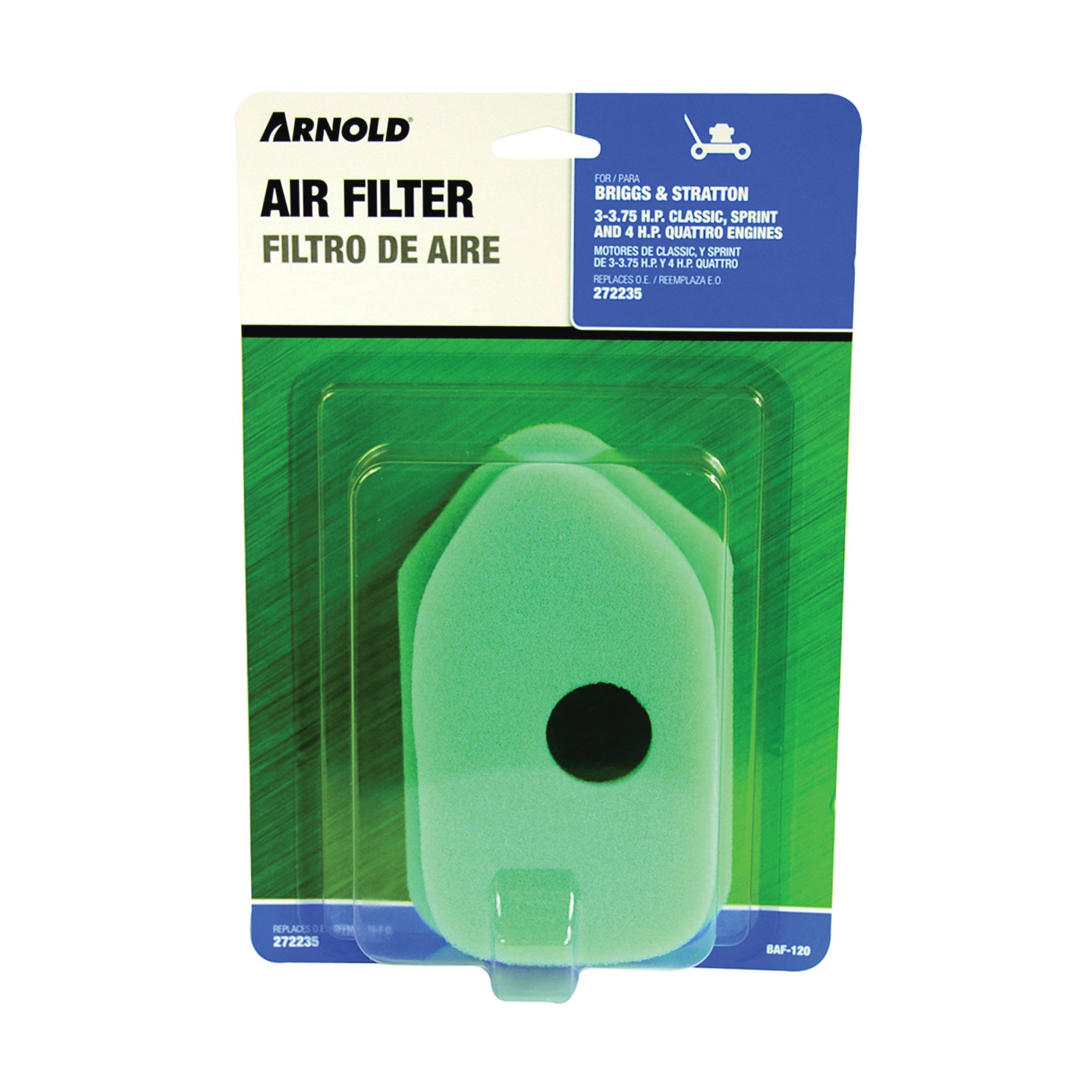 Picture of ARNOLD BAF-120 Replacement Air Filter, Foam Filter Media