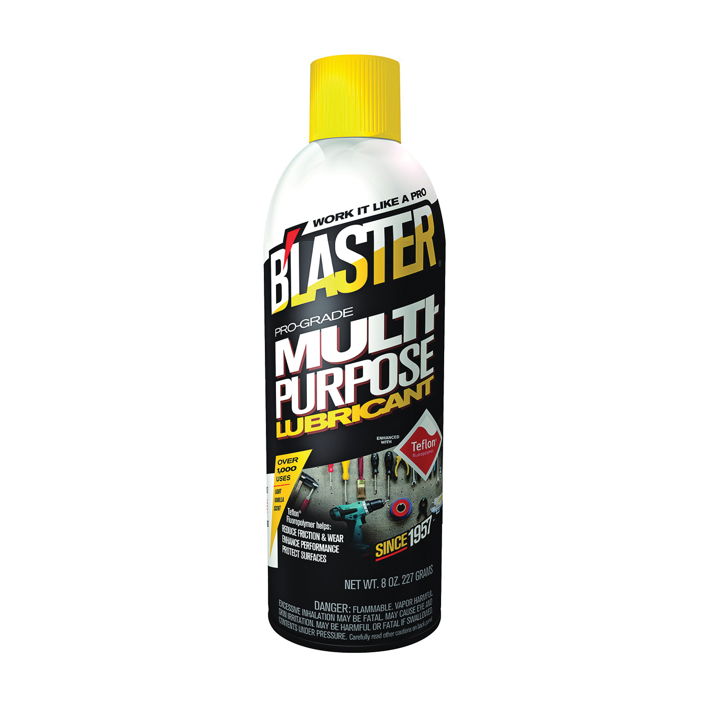 Picture of B'laster PB-50 Lubricant, 8 oz Package, Aerosol Can, Liquid, Mild Aliphatic