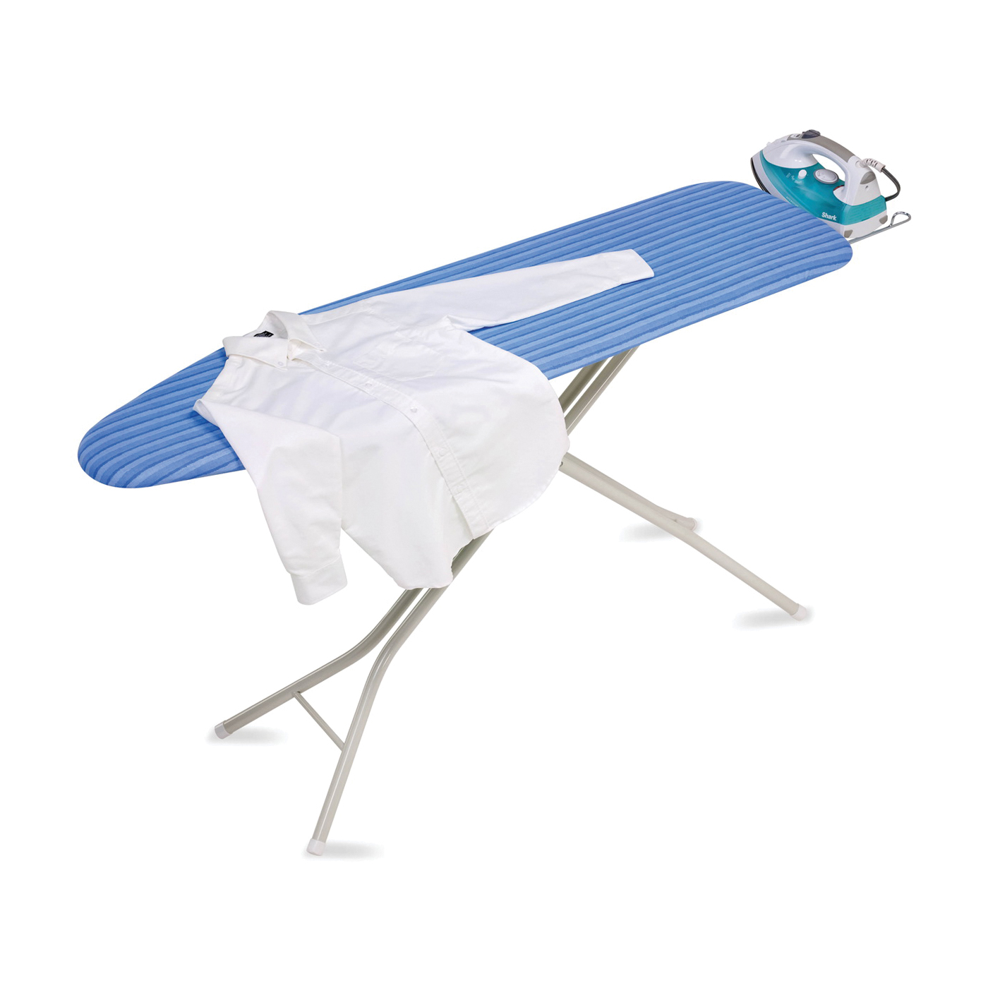 Picture of Honey-Can-Do BRD-01956 Ironing Board, Blue/White Board