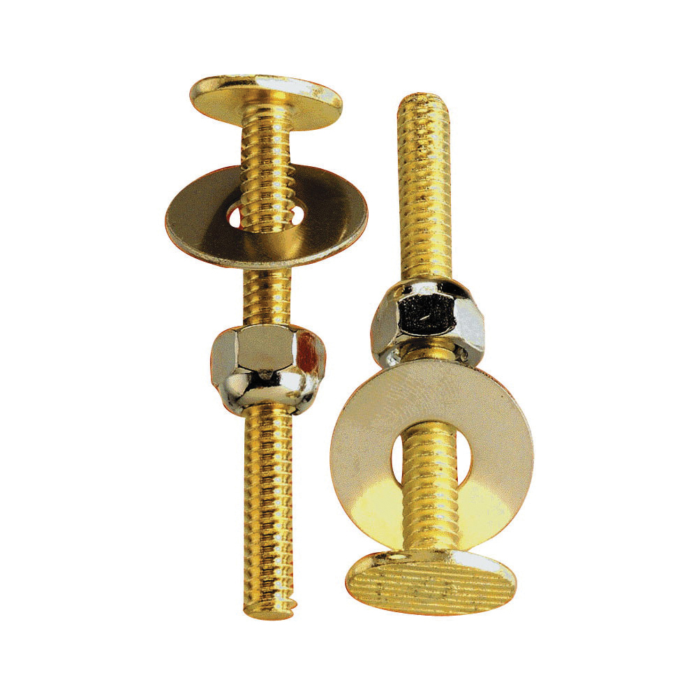Picture of Plumb Pak PP835-16 Bolt Set, Brass, Carded